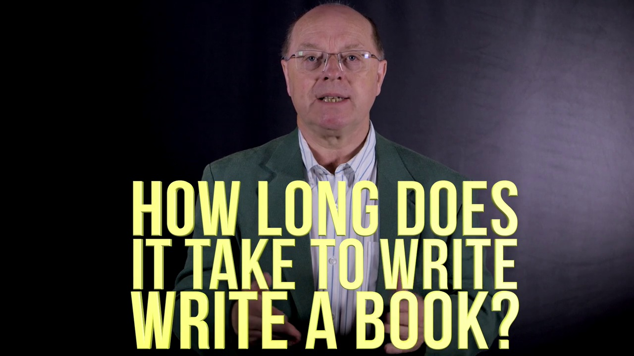 what does it take to write a book